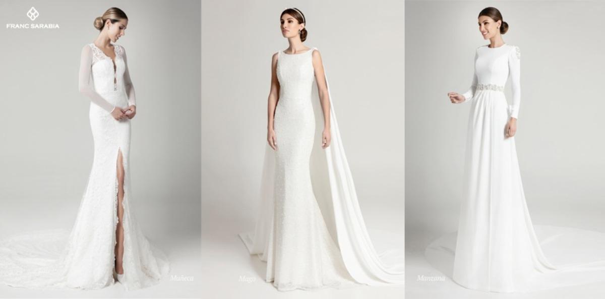 Vestidos de novia colección terracotta