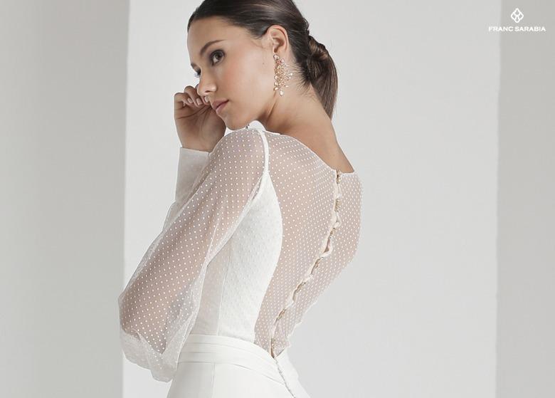 Vestido de novia modelo Malecón