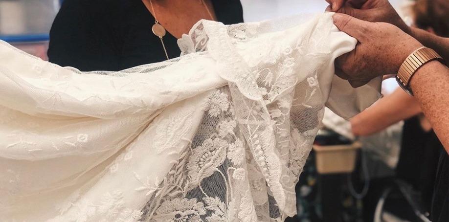 Vestido de novia hecho a medida